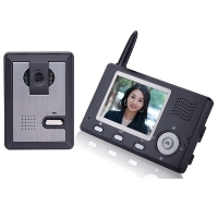 "Brand New Wireless Video Door Phone Intercom System with 3.5"" Display"