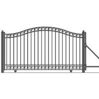 Dublin Style Slide Steel Driveway Gate