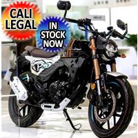 200cc Lifan KP-Master Classic Retro EFI Motorcycle 6-Speed Manual Bike - KPM200