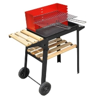 Custom BBQ Adjustable Barbecue Smoker
