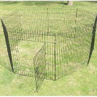 "High Quality 8 Panels 42"" Light Duty Pet Dog Play Exercise Playpen"