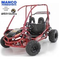 208cc Marauder Go Kart w/ 4-Stroke Engine!