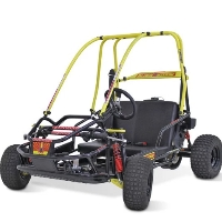 136cc Black Widow 4-Stroke Go Kart w/ Full Suspension!