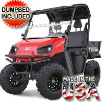 450cc American LandStar LS455EFI 2WD Utility Vehicle w/Poly Dump Bed UTV