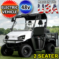 Brand New 48V American LandMaster E-Cruiser Utility Vehicle Electric 2WD 4 Stroke UTV - E-Cruiser