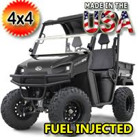 700cc American LandStar LS677EFI 4WD Utility Vehicle w/Poly Dump Bed UTV