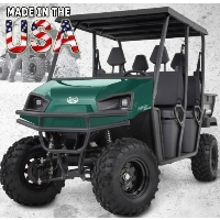 American LandStar LSC2 Gas Powered Crew Cab Utility Vehicle 2WD UTV