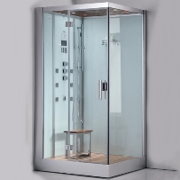 "Ariel Platinum Ariel Platinum White Steam Shower 47"" x 35.4"" x 89"""