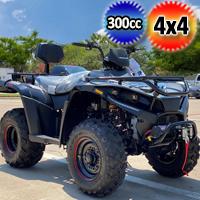 300cc Woodsman MSA 4x4 Atv Fully Automatic Four Stroke Quad - WOODSMAN 300 4X4