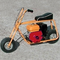 "Brand New Mini Bike Kit w/ 6"" Aluminum Wheels"