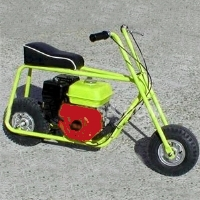 "Brand New Mini Bike Kit w/ 8"" Aluminum Wheels"
