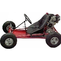 "Brand New Go Kart Kit with 5"" Aluminum Wheels"