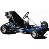 "Brand New Go Kart Kit with 6"" Aluminum Wheels"