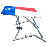 Brand New Super Shadow Bimini - Graphic (Texas Flag)