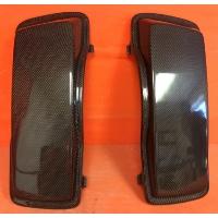 Harley Saddlebag Carbon Fiber Regular Lids Fits Harley Touring Streched / Extended