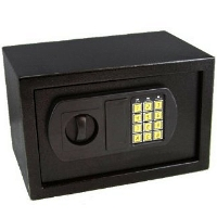 High Quality 0.3CF Electronic Home Security Digital Lock Keypad Safe Box - Black