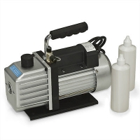 Vacuum Pump 2-Stage 3.9 CFM 1/3HP Rotary Vane Deep HVAC Tool For AC