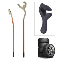 Tire Mount Demount Tool Steel Aluminum Tire Changer Tools Tubeless Truck Bead