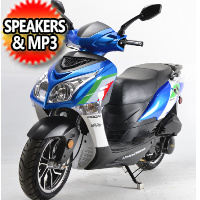 150cc Fresca Fully Automatic 4 Stroke Limited Edition Moped Scooter - 150T-10