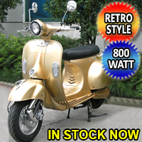 800 Watt City Rider Electric Scooter Moped Model: 571Z