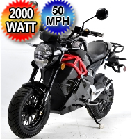New 2000 Watt Electric Motorcycle Moped Scooter Model: 581Z