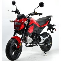 125cc Morph Motorcycle Moped Scooter w/ Manual Trans. - BD125-10