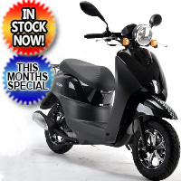 50cc Italian Style Scooter Moped With 49cc Motor - Model 20A