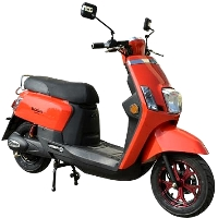 Boom 800w 48v Electric Moped Scooter With Brushless Motor - TDWBD572Z-2018