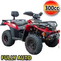 300cc Linhai Atv Fully Automatic Four Stroke Quad - BigHorn 300