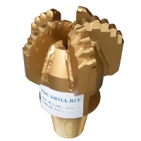PDC Drill Bit Center Hole PDC Bits - 3 Blade Polycrystalline Diamond Compact Drill Bit - Upgrade to 4 Blade or 5 Blade