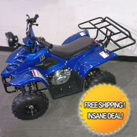 Brand New 110cc 4 Stroke ATV Quad