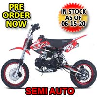 110cc Dirt Bike Semi Auto Racing Competition Pit Dirt Bike - BMS Pro - 110 Semi Auto
