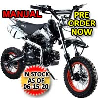 110cc Dirt Bike Manual Racing Competition Pit Dirt Bike - BMS Pro - 110