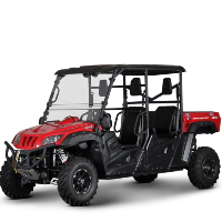 BMS 700 UTV Off Road Gas Golf Cart Ranch Pony EFI Utility Vehicle 4 Seater - RANCH PONY 700 EFI 4S