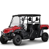 BMS 700 UTV Off Road Gas Golf Cart Ranch Pony EFI Utility Vehicle 4 Seater - RANCH PONY 700 EFI 4S