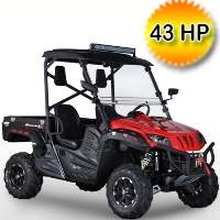 BMS 700cc Ranch Pony EFI UTV Utility Vehicle - RANCH PONY 700