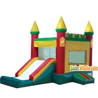 Commercial Grade 13' x 13' Inflatable Magic Castle Combo Bouncer Bouncy House