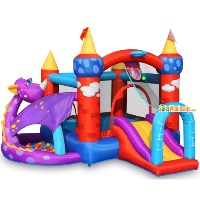 Bounce House - Dragon Castle with Ball Pit