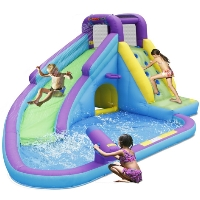 Sun N' Fun Water Slide with Pool and Water Gun