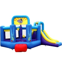 Pop Star Bouncer House Bouncy House with Slide
