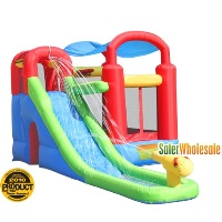 Playstation Bounce House with Blower - Wet Or Dry Combo Bouncer