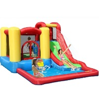 Bounce House - Jump and Splash Adventure Bounce House