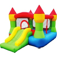 Bounce House - Castle Bounce N' Slide w/hoop