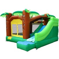 Jungle Bouncer Bounce House - Jungle with Slide