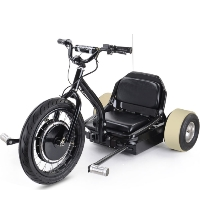 MotoTec Drifter 500W 48V Electric Drift Trike - Speeds Up to 22 MPH
