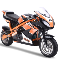MotoTec 1000w 48v Electric Superbike Black