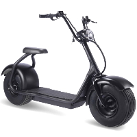 MotoTec Fat Tire 60v 18ah 2000w Lithium Electric Scooter Black
