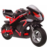 50cc 2 Stroke Super GT Gas Pocket Bike - MT-Gas-GT