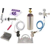 Kegco Deluxe Homebrew Kegerator Conversion Kit