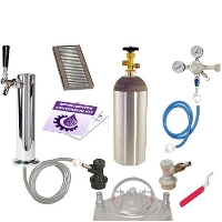 Kegco Deluxe Homebrew Tower Kegerator Conversion Kit